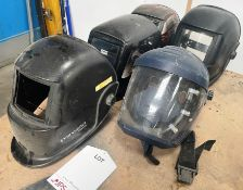 Various Welding Masks   As Pictured