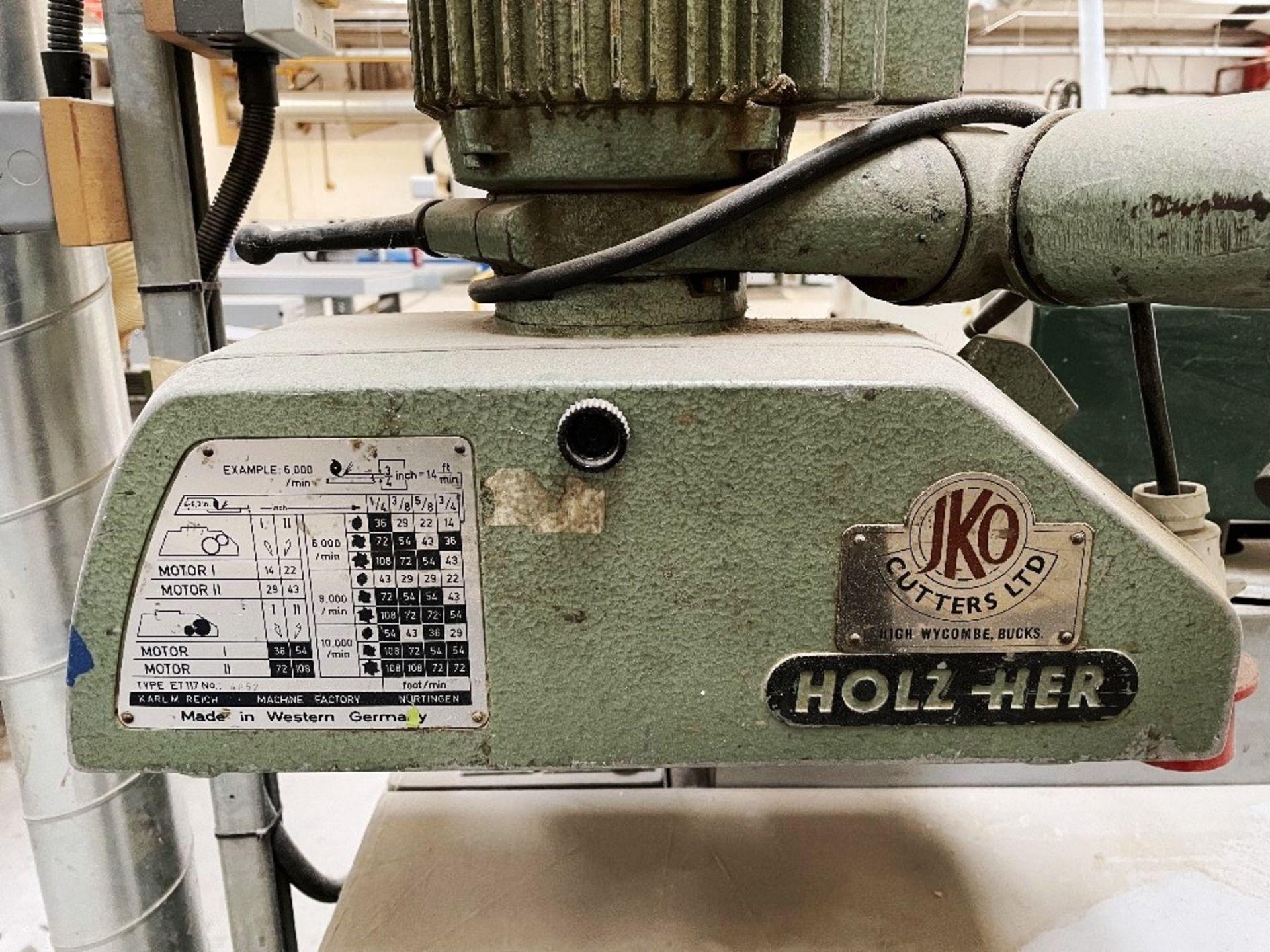 Felder FS 900KF Edge Sander w/ Holz-her Power Feed   YOM: 2002 - Image 4 of 8