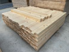 Approx 150 x 41mm Pine Plain Balusters 900mm