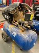 Mobile Draper 29355 Air Compressor 50L 230V 2.2Kw