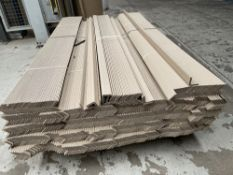 Part Pallet of Cardboard Edge Guards Protectors | As Pictured