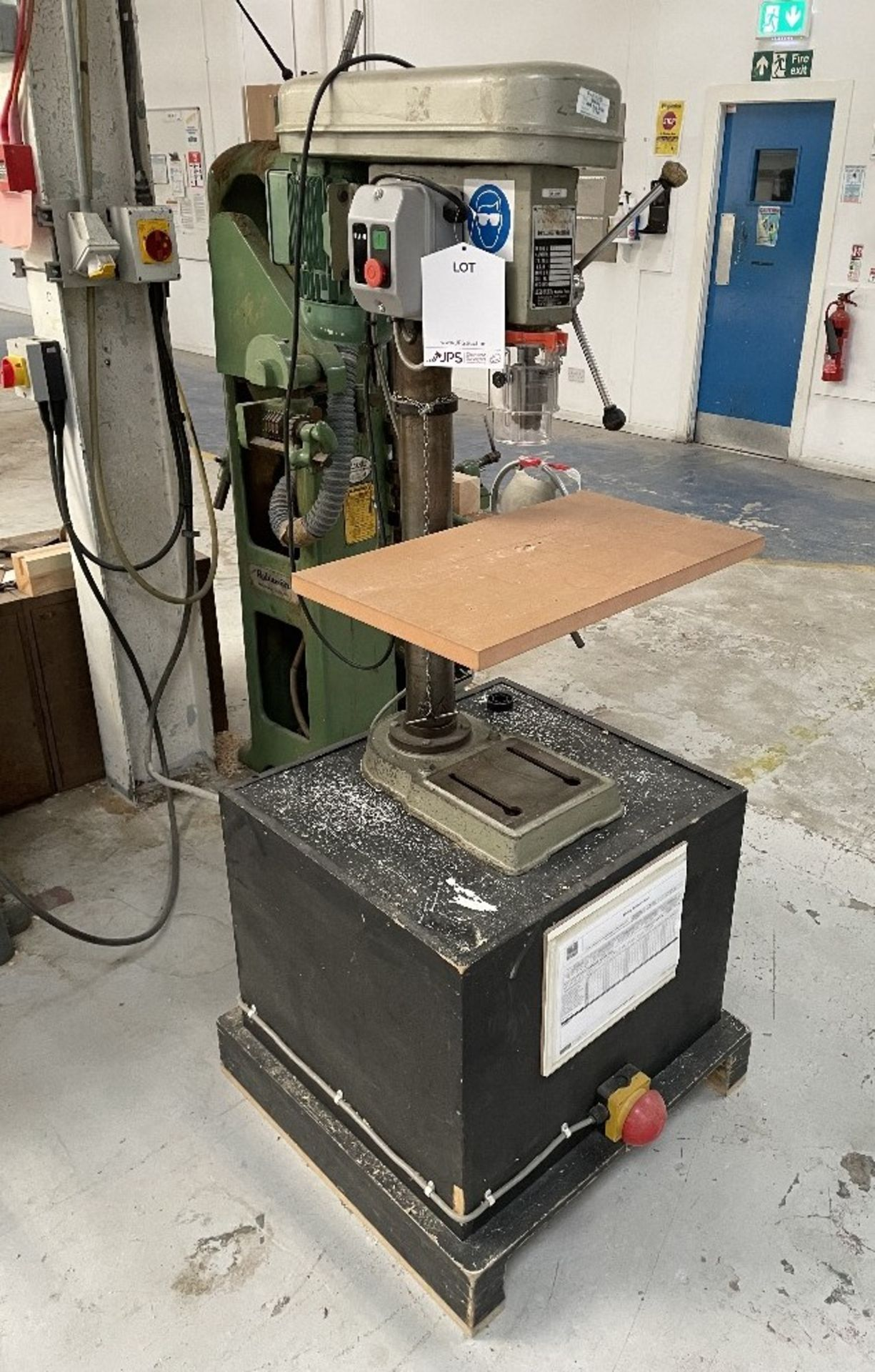 Pinnacle PD16 16mm Pedestal drill   YOM: 1983