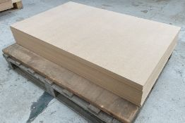 8 x Sheets of MDF   Size: 1217 x 770 x 22m