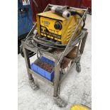 Taylor CDM8 Capacitor Discharge Stud Welding Machine w/ Gun, Studs & Mobile Bench