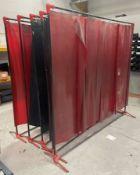 5 x Welding Screens