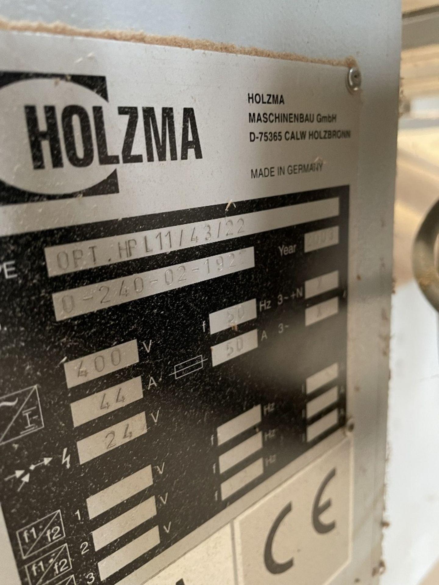 Holzma Optimat HPL 11 Beam Saw | YOM: 2003 - Image 6 of 11