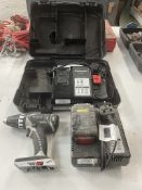 Panasonic EY7441 Cordless Drill w/ 2 x Battery Chargers in Case