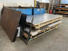 Quantity of Various Metal Sheeting/Off Cuts - As Pictured