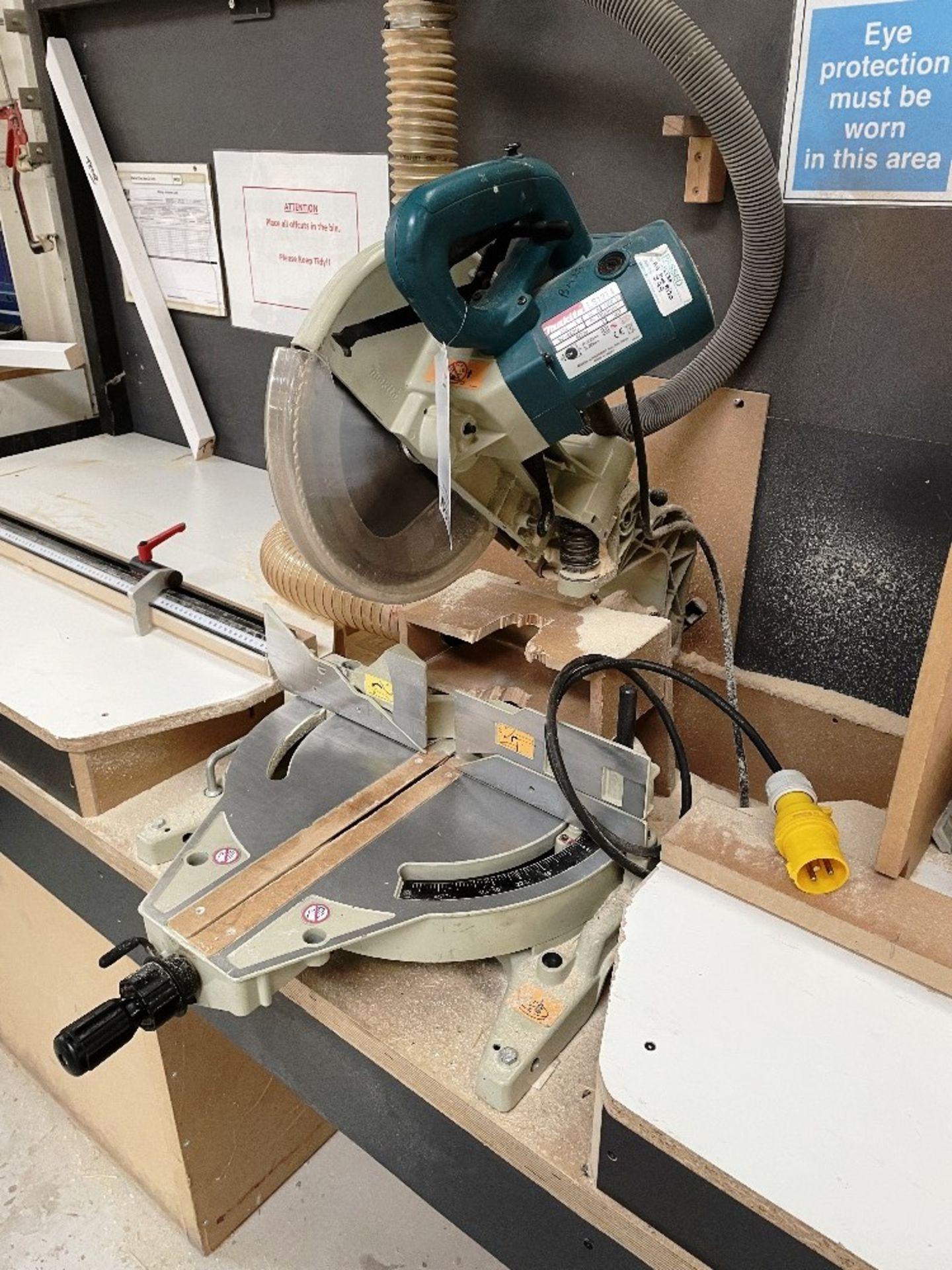 Makita LS1214 Corded 305mm Slide Compound Mitre Saw   110v - Image 3 of 6