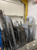 Quantity of Various Stainless Steel Sheeting/Off Cuts - As Pictured