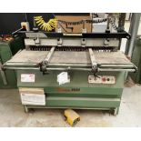 Maggi 3532 4 Head Boring Machine w/ Tool Cabinet & Tooling | YOM: 1999