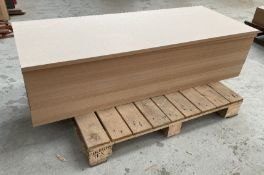 17 x Sheets of MDF   Size: 1520 x 630 x 22mm