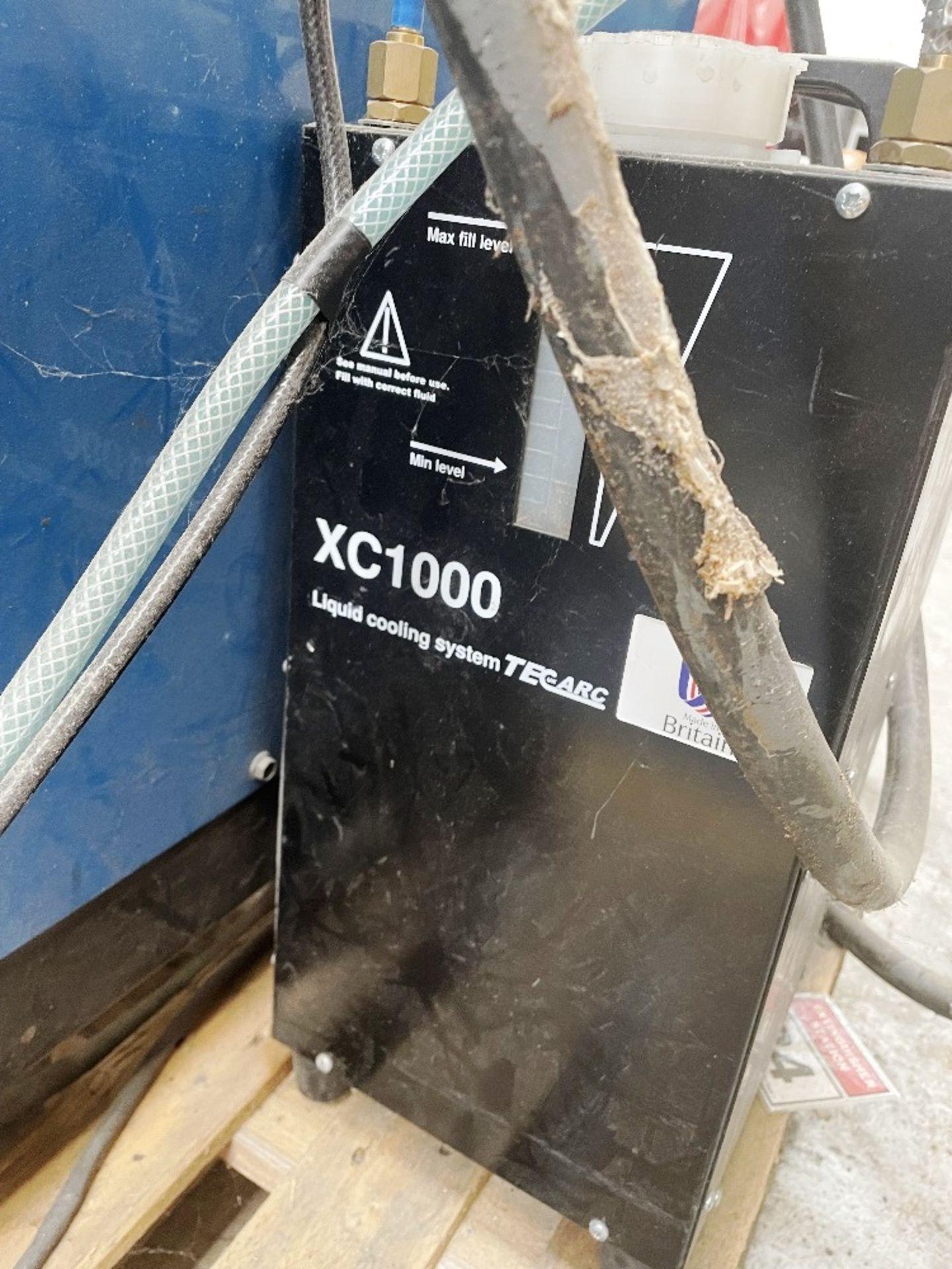 Miller Syncrowave 250 Tig Welder w/ TecArc XC1000 Water Cooler - Image 3 of 4