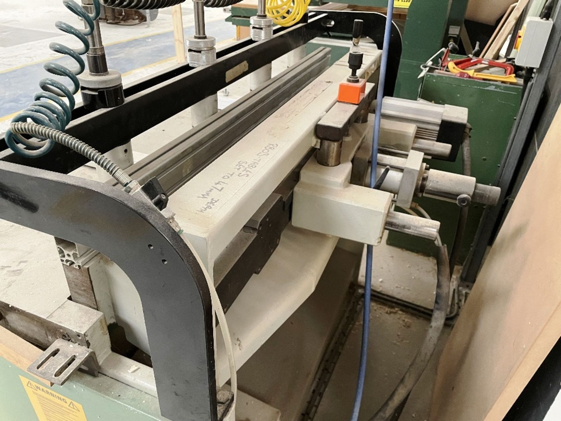 Maggi 3532 4 Head Boring Machine w/ Tool Cabinet & Tooling | YOM: 1999 - Image 7 of 12