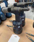 3 x Avdel Genesis NG3 Pneumatic Riveters