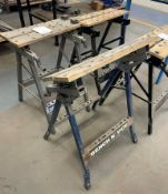 4 x Various Foldable Workbenches