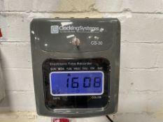 Clocking Systems CS-30 Clocking in Machine