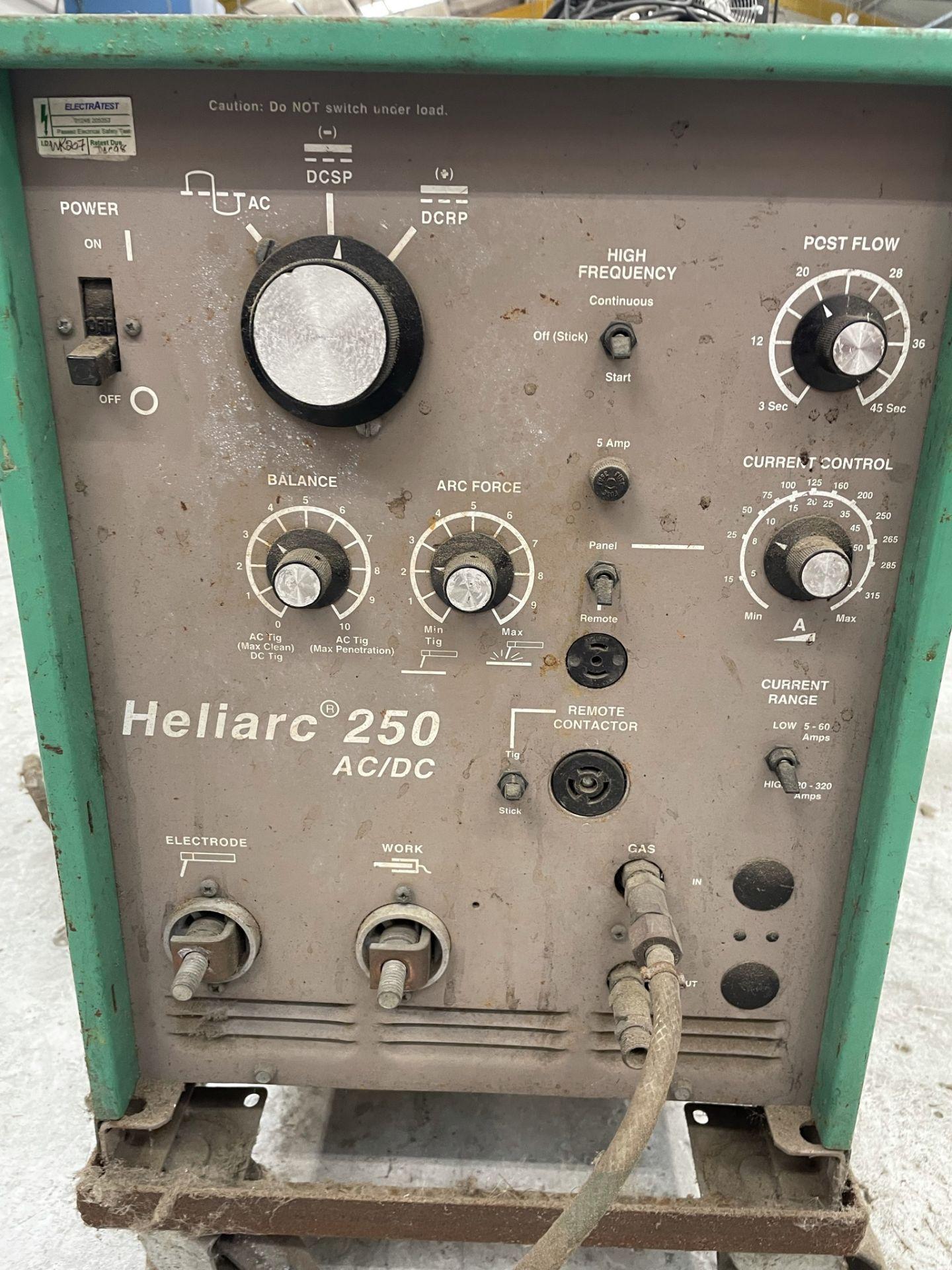 L-Tec Heliarc 250 Tig/Stick Welder - Image 4 of 4