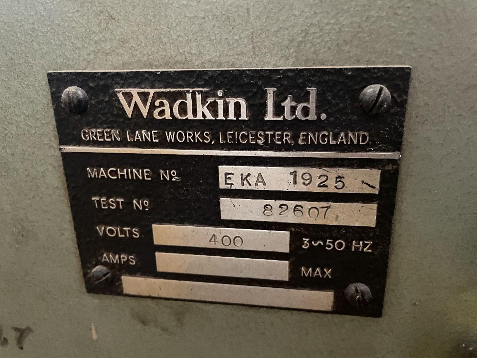 Wadkin EKA Single Head Tenoner - Image 4 of 7