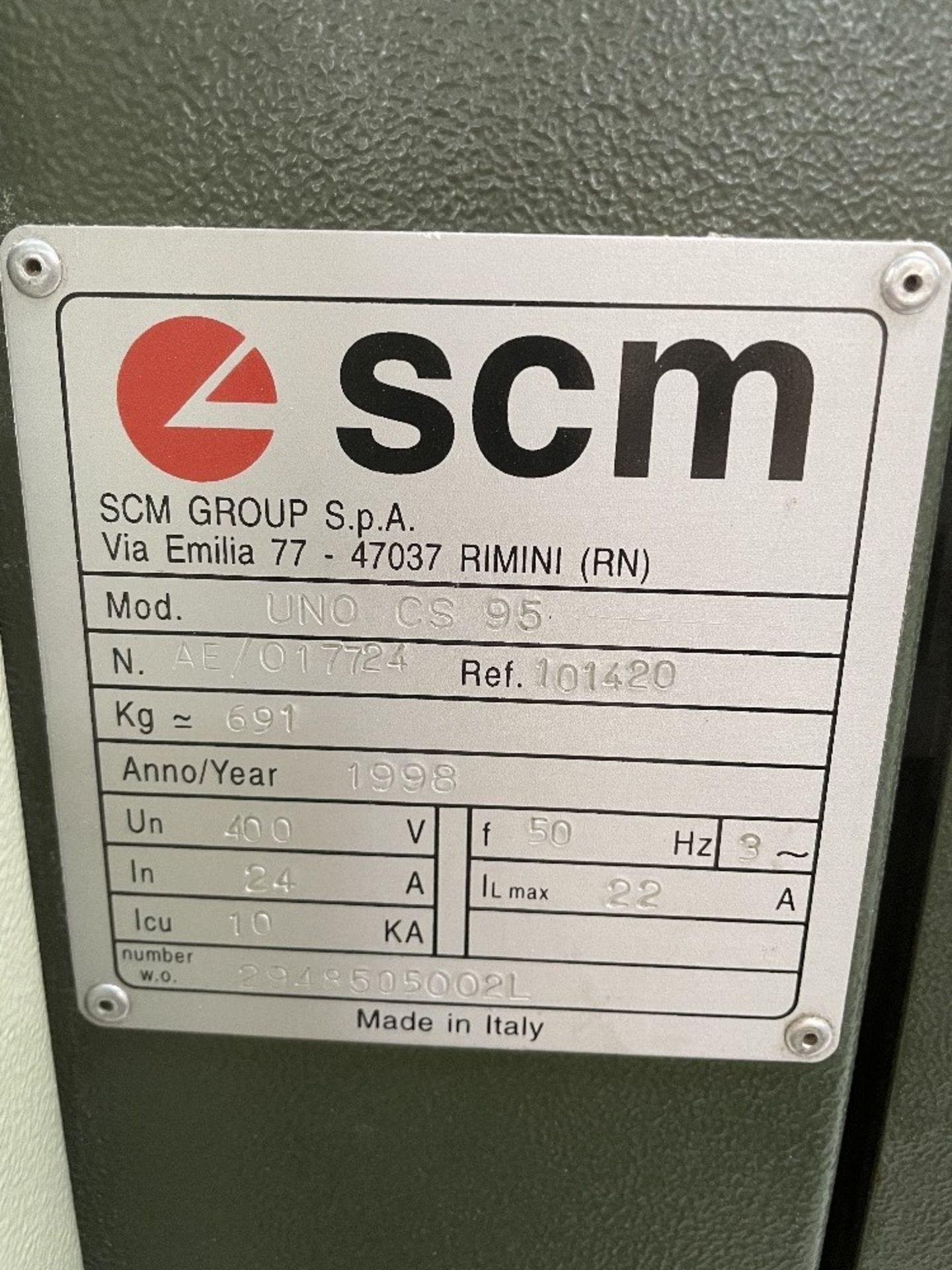 SCM Sandya 1K UNO CS 95 Drum Sander | YOM: 1998 - Image 2 of 7