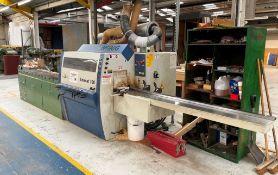 Weinig Unimat 300 5 Head Moulder w/ Outfeed Roller Conveyor & Tooling
