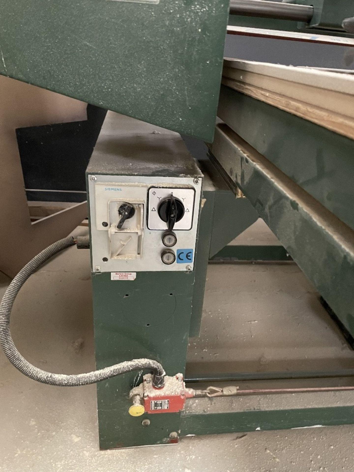 Felder FS 2200 Belt Sander w/ Spare Sanding Belts & Pads - Image 7 of 13