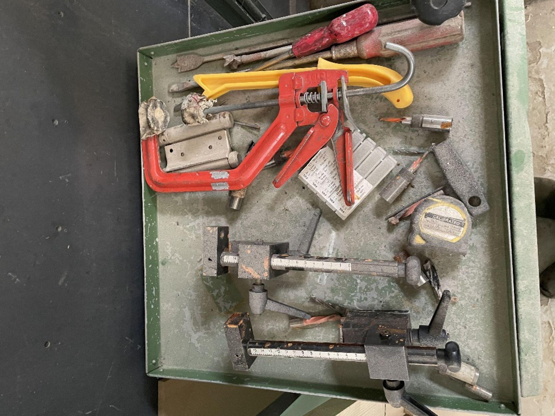 Maggi 3532 4 Head Boring Machine w/ Tool Cabinet & Tooling | YOM: 1999 - Image 12 of 12
