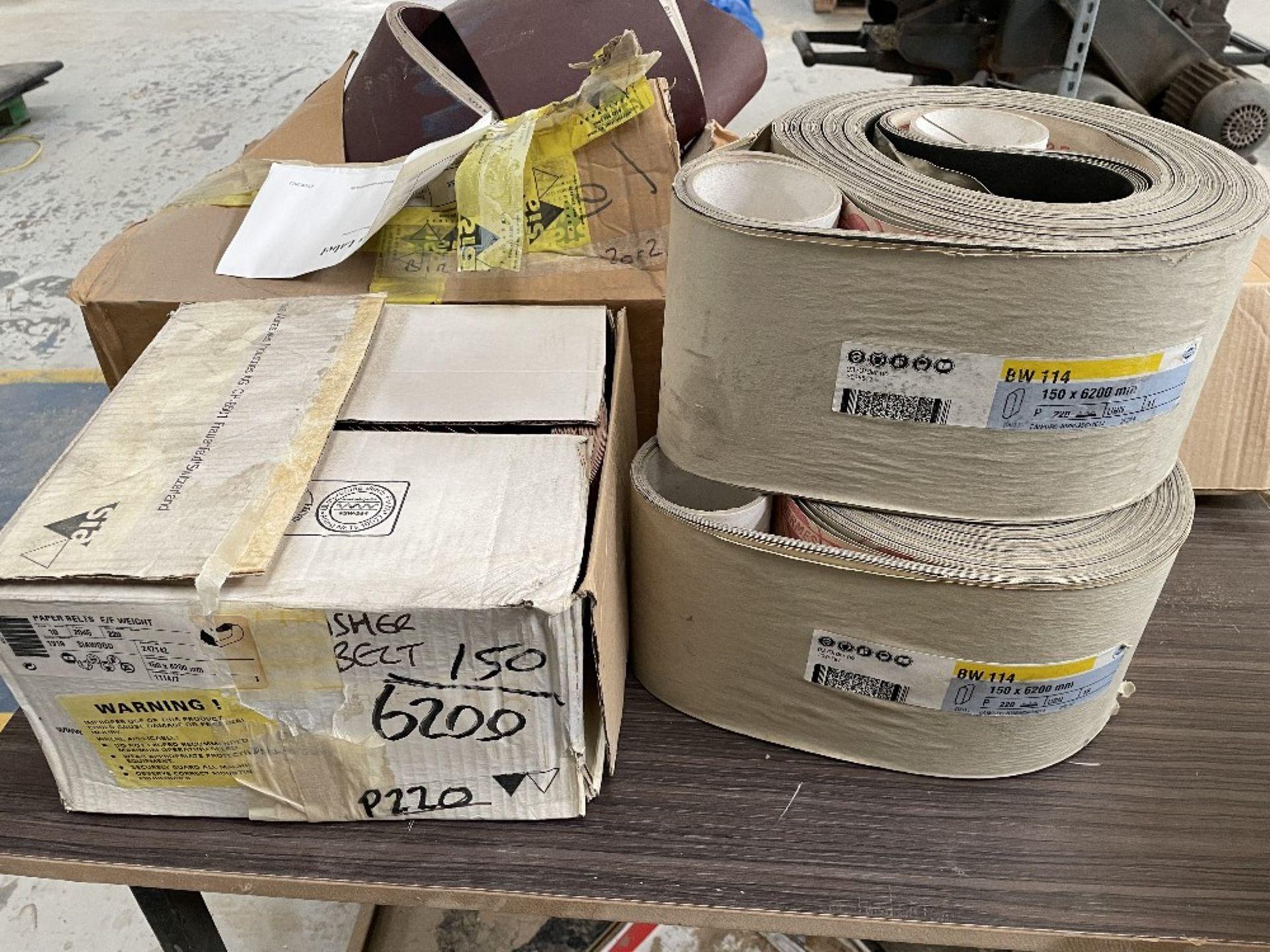 Felder FS 2200 Belt Sander w/ Spare Sanding Belts & Pads - Image 12 of 13