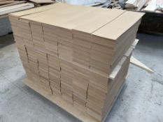 Pallet of 800mm x 165mm MDF Sheet Panels - As Pictured