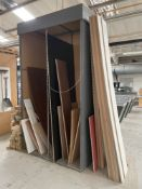 Quantity of Various Laminated Plywood/MDF Sheets - As Pictured
