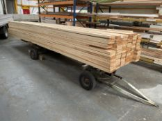 88 x Lengths of Joinery Redwood   Approx 6m x 175mm x 35mm