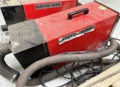 Electac MT800 Portable Fume & Dust Extractor