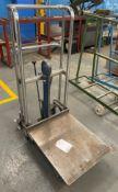Okudaya SC-4-12 400kg Hydraulic Pump Mobile Lifter Trolley