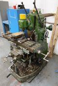 Adcock Shipley No2 Milling Machine