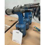 3 x Avdel Genesis G3 Pneumatic Riveters