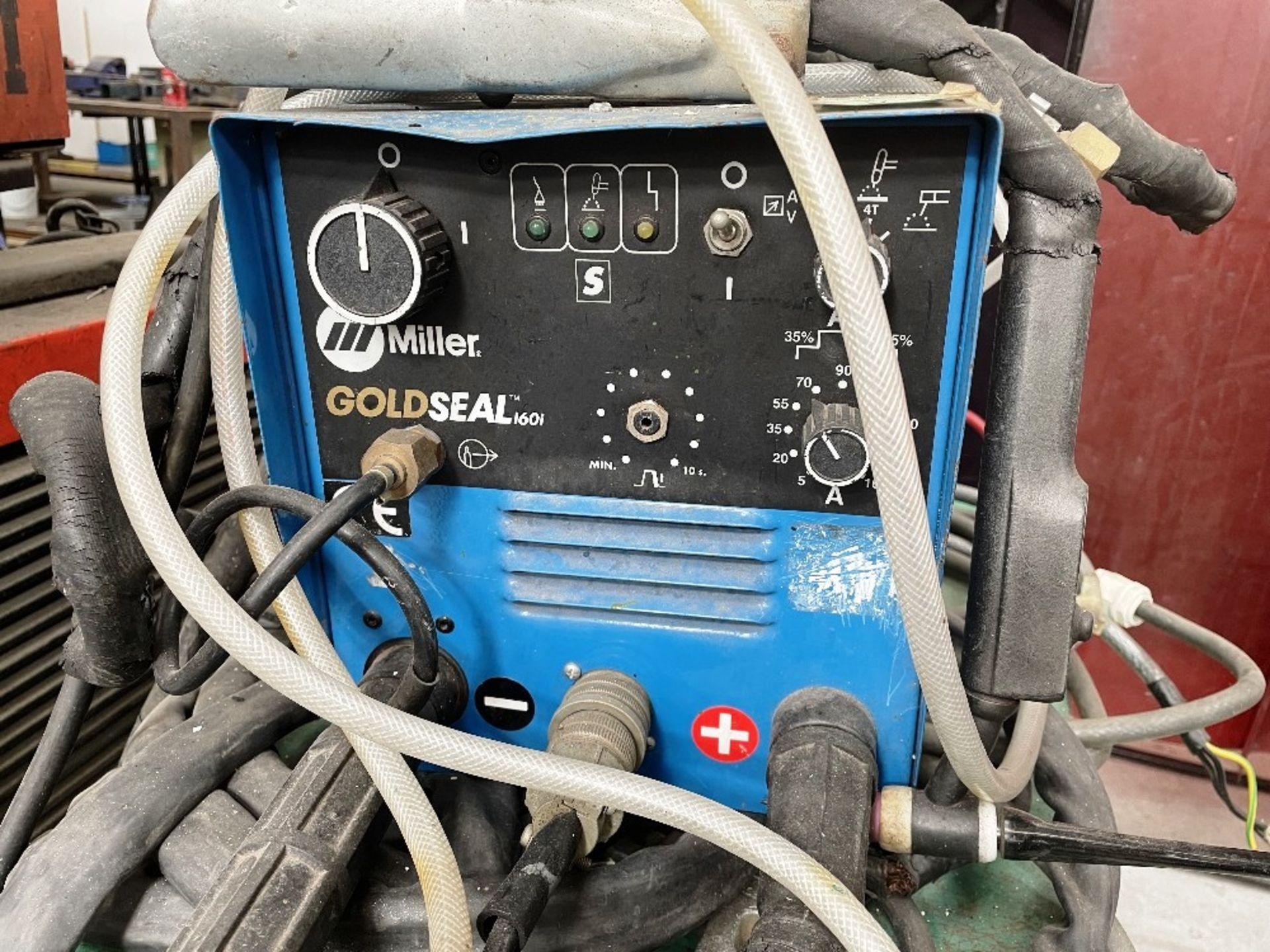 L-Tec Heliarc 250 Tig/Stick Welder w/ Miller Power Source & Water Cooler - Image 2 of 5