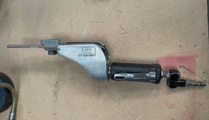 Dynabrade Dynafile Pneumatic Abrasive Belt Sander