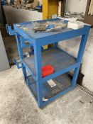 3 Tier Fabricated Mobile Trolley