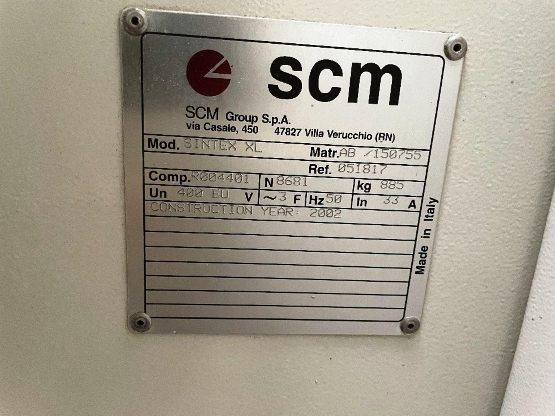 SCM Sintex XL 4 Sided Planer Moulder   YOM: 2002 - Image 2 of 5
