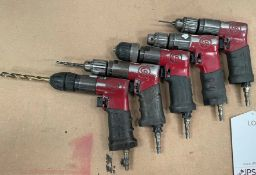 5 x RediPower Pneumatic Drills   As Pictured