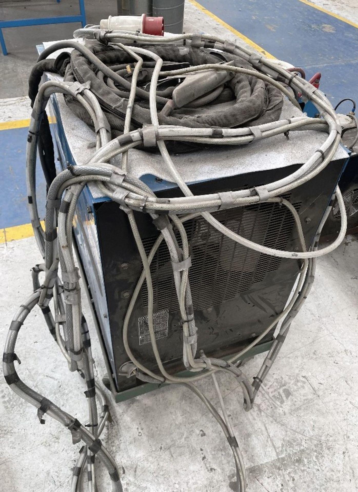 Miller Syncrowave 250 Tig Welder w/ Miller Water Cooler - Image 5 of 5