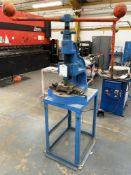 FJ Edwards No 6a Fly Press w/ Metal Bench