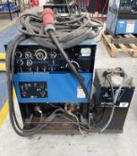 Miller Syncrowave 250 Tig Welder w/ TecArc XC1000 Water Cooler
