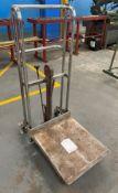 Okudaya 200kg Hydraulic Pump Mobile Lifter Trolley