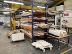 2 x Bays of Racking w/ Staircase Joinery Products - As Pictured