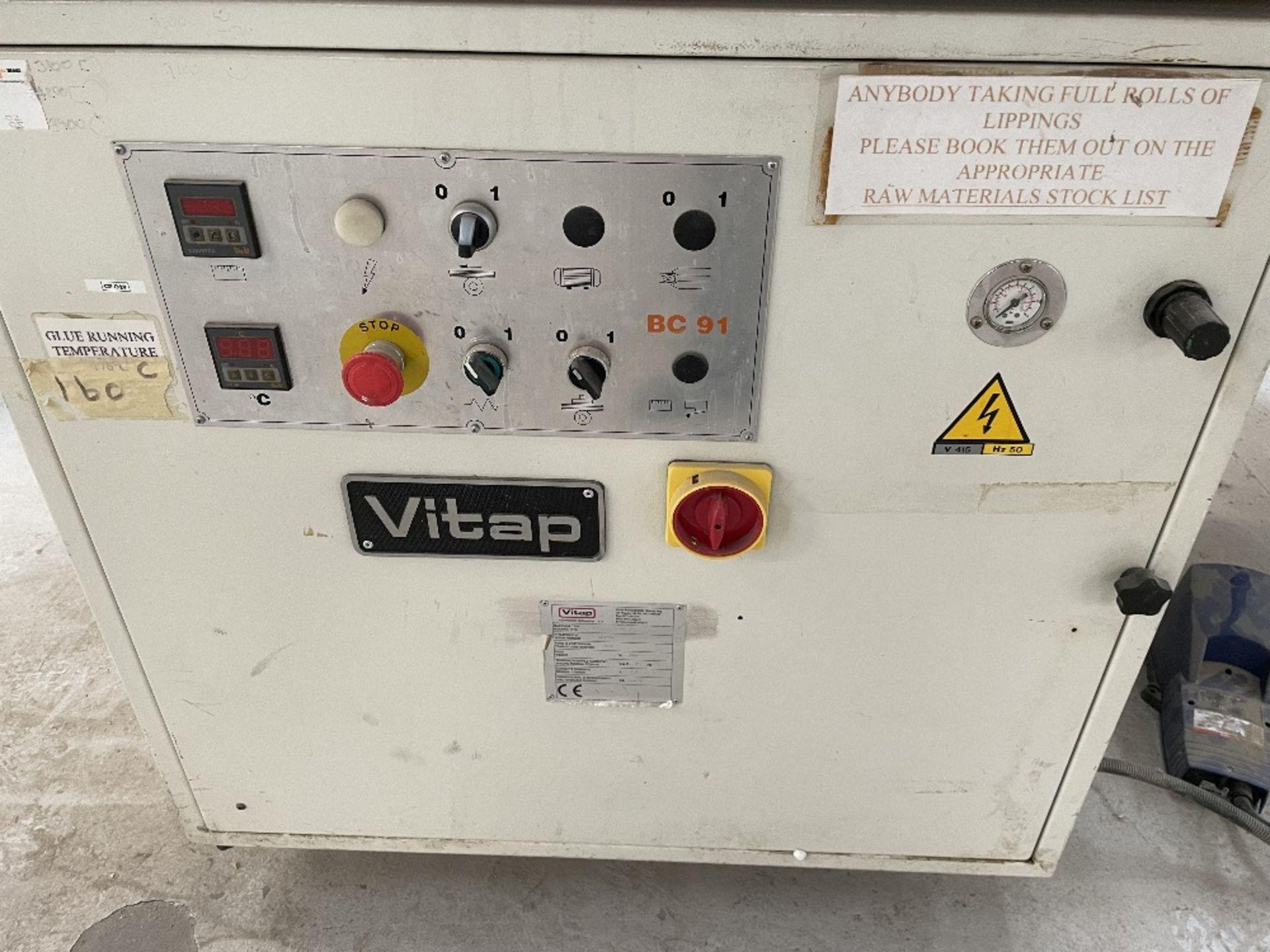 Vitap Bordatrice BC91A Single Sided Edgebander   YOM: 2000 - Image 3 of 5