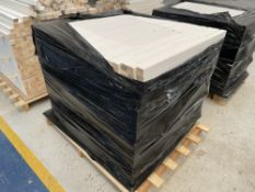 Pallet of Various Painted Balusters - As Pictured