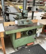 JJ Smith Spindle Moulder w/ Holz-her Power Feed