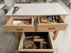 2 Drawer Workbench w/ Tooling | As Pictured
