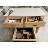 2 Drawer Workbench w/ Tooling   As Pictured